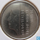 Coins - the Netherlands - Netherlands 25 cents 1985
