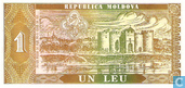 Banknoten  - Moldawien - 1992 (1993) Regular Issue - Moldawien 1 Leu 1992