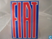 Emaille Reklamebord : Fiat