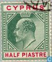 Briefmarken - Zypern [CYP] - König Edward VII.