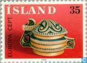 Postage Stamps - Iceland - Europe – Handicrafts