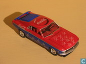 Model cars - Johnny Lightning - Ford Mustang 'Coca-Cola'