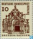 Postage Stamps - Berlin - German small-size structures
