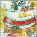 Postage Stamps - Guernsey - Christmas Meal