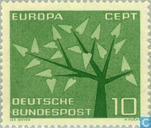 Postzegels - Duitsland, Bondsrepubliek [DEU] - Europa – Boom met 19 bladeren