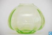 Verre / Cristal - Kristalunie - Mira nr. 3 Vaas vert-chine
