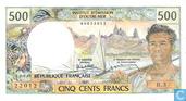 Tahiti 500 francs