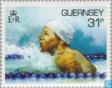 Timbres-poste - Guernesey - Sports