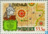 Postage Stamps - Madeira - Discovery of Madeira