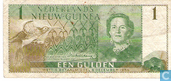 Banknotes - 8 december 1954 - Neth. New Guinea 1 Guilder