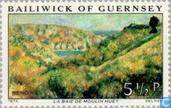 Postage Stamps - Guernsey - Renoir Paintings
