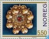Postzegels - Noorwegen - Zilversmeden