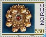 Briefmarken - Norwegen - Silberschmiede