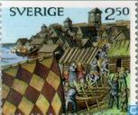Postage Stamps - Sweden [SWE] - Viking Age