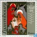 Postzegels - Luxemburg - Bijbelse voorstellingen