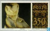 Timbres-poste - Vatican - Sculptures