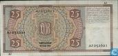 Banknotes - Bankpresident Mees - 25 guilder Netherlands 1931