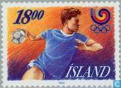 Postage Stamps - Iceland - Olympic Games- Seoul