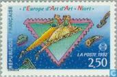 Postage Stamps - France [FRA] - Congress philatelists Niort 'l'Europe d'Art'