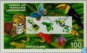 Postage Stamps - Germany, Federal Republic [DEU] - Save the rainforest