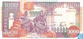 Somalië 1.000 Shilin 1990