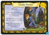 Trading cards - Harry Potter 4) Adventures at Hogwarts - Muddy Practice