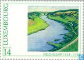 Postage Stamps - Luxembourg - Paintings