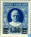 Postage Stamps - Vatican City - Pope Pius XI with imprint