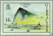 Postzegels - Gibraltar - Europa – Historische gebeurtenissen