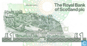 Bankbiljetten - Royal Bank of Scotland plc - Schotland 1 Pound
