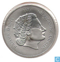 "Coins - Netherlands Antilles - Netherlands Antilles 25 gulden 1973 ""25 years reign of Queen Juliana"""