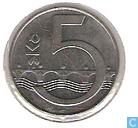 Munten - Tsjechië - Tsjechië 5 korun 1993