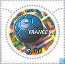 Postage Stamps - France [FRA] - World Cup football