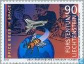 Postage Stamps - Liechtenstein - NASA Project STARS