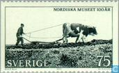 Postage Stamps - Sweden [SWE] - 100 years Nordic Museum