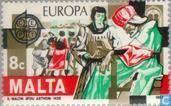 Postzegels - Malta - Europa – Historische gebeurtenissen