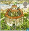Postage Stamps - Great Britain [GBR] - Globe Theatre
