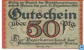 Banknoten  - Borna, Amtshauptmannschaft - Borna, Amtshauptmannschaft 50 Pfennig ND (1919)