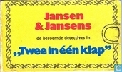 "Bandes dessinées - Tintin - ""Twee in één klap"""