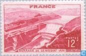 Timbres-poste - France [FRA] - Génissiat- Lac de retenue
