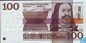 Banknotes - Erflaters II - 100 guilder Netherlands 1970
