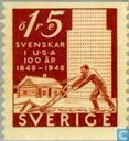 Postage Stamps - Sweden [SWE] - 15 Brown