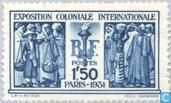 Timbres-poste - France [FRA] - Exposition coloniale