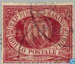 Postage Stamps - San Marino - Coat of Arms