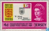 Postage Stamps - Jersey - Independent postal service