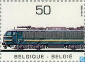 Timbres-poste - Belgique [BEL] - Locomotives