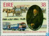 Postzegels - Ierland - I.C.O.S. 50 jaar