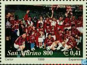 Briefmarken - San Marino - AC Milan