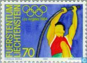 Timbres-poste - Liechtenstein - Jeux olympiques
