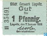 Banknoten  - Liegnitz - Städtisches Gaswerk - Liegnitz 1 Pfennig